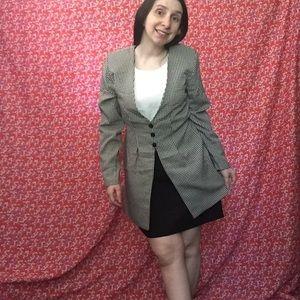 Business causal blazer style dress